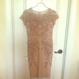 Blush/light pink Mother of the Bride dress
